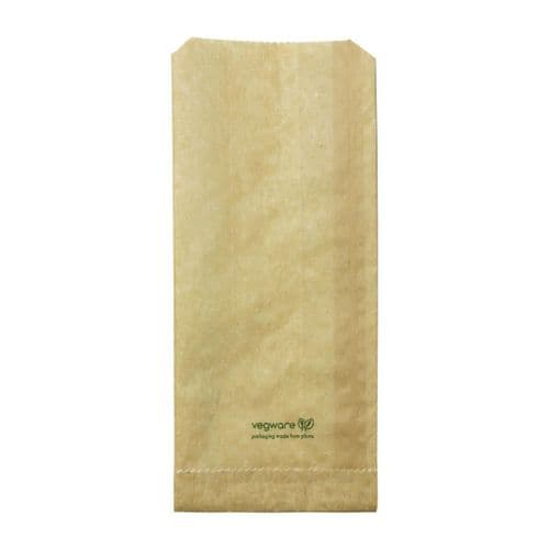 FC898 Vegware Compostable Therma Paper Hot Food Bags 292 x 127mm (Pack of 500)